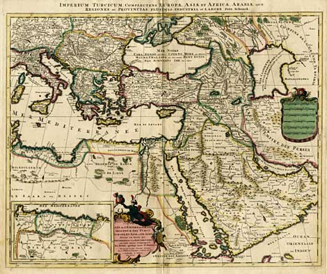 Ottoman Empire Map 1720